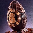 Maya Big Chocolate Easter Egg LINEAGUSCIO Mold