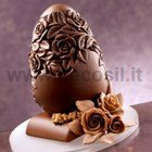 Rose Chocolate Easter Egg Mold