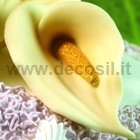 Calla flower-shaped 3D silicone mold