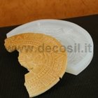 Aztec stone crescent-shaped mold