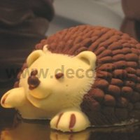 Hedgehog Chocolate Mold