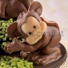 Monkey Diver Chocolate Mold