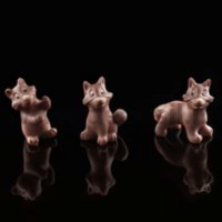 Funny Foxes chocolate mold