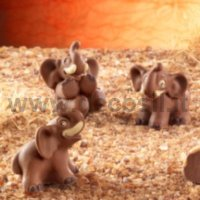 Funny Elephants mold