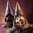 Santa Claus in Chimney chocolate christmas tree mold