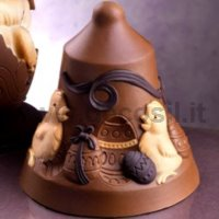 LINEAGUSCIO® Easter Chicks Bell Mold