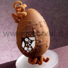 Mechanical Chocolate Easter Egg LINEAGUSCIO Mold
