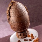 Mosaic Chocolate Easter Egg LINEAGUSCIO Mold
