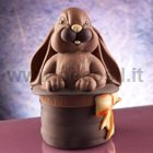 Bunny in the Magic Hat Chocolate Easter Egg Mold