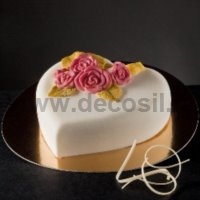 Heart of Roses Ice Cream Cake mold