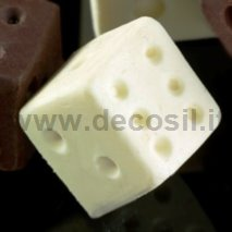 Small Dice game silicone mold