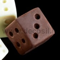 Big Dice-shaped silicone mold