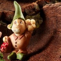 Elf Timothy with flower mold