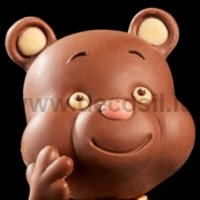 GIOCOLOSO TEDDY BEAR'S HEAD mold