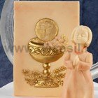 Parchment of First Communion Cup Mold
