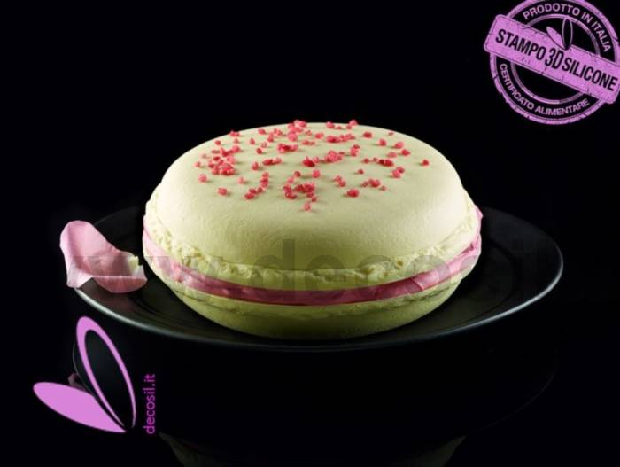 Big Macaron or Big French Amaretto Mold