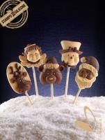 decoStick Christmas Chocolate Lollies mold