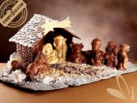 Nativity Crib with Christmas Star mold