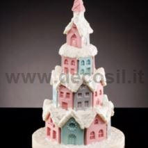 Gingerbread Village LINEAGUSCIO Pine Mold
