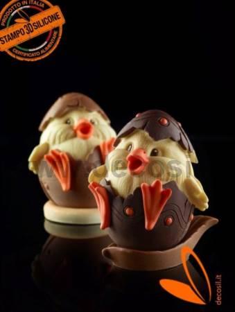 Chick egg mold - Medium size