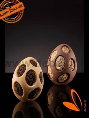 Medium-Size Licorice Chups Egg Mold