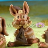 Bunny mold Gianduiotto