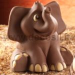 Sitting Elephant mold