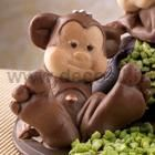 Monkey Sitting Chocolate Mold