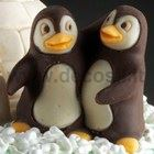 Penguins in pairs mold