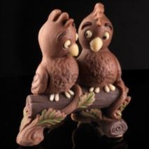 Parrots couple mold