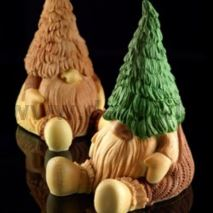 Gnome Tiby Chocolate LINEAGUSCIO Mold