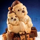 Chocolate Puppies Gift LINEAGUSCIO Bell Mold