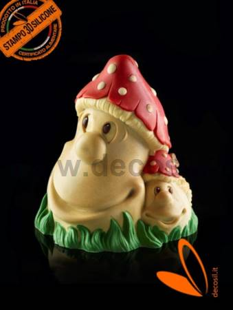 Mushrooms Chocolate Bell LINEAGUSCIO Mold