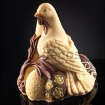 Doves Chocolate Easter Bell LINEAGUSCIO Mold