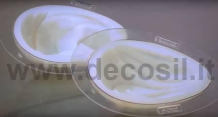 LINEAGUSCIO Thermoformed Big Egg Mold