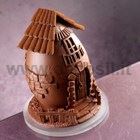Farm Chocolate Easter Egg LINEAGUSCIO Mold
