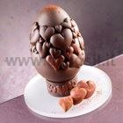 Hearts Chocolate Easter Egg LINEAGUSCIO Mold