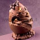 Toys Chocolate Easter Egg LINEAGUSCIO Mold