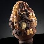 Zodiac Chocolate Easter Egg LINEAGUSCIO Mold