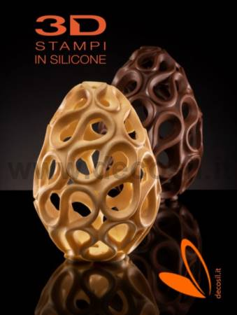 Ceramic Chocolate Easter Egg LINEAGUSCIO Mold