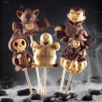 decoStick Halloween Chocolate Lollies Mold