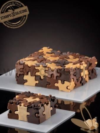 Puzzle Cake Mold