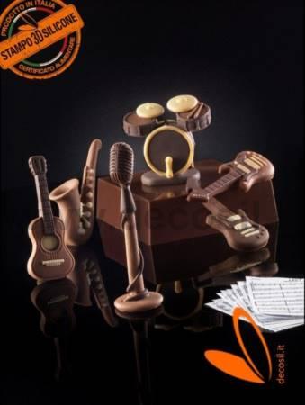 Saxophone or Sax Mold