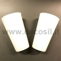Silicone cap for pipe Ø 30x36 mm