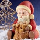 Santa Claus Sitting chocolate mold