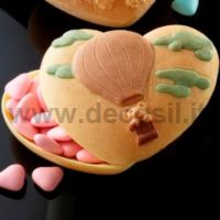 Heart Case with Ballooning mold