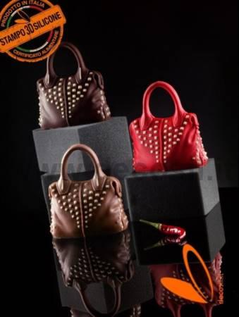 Bag with Studs chocolate mold