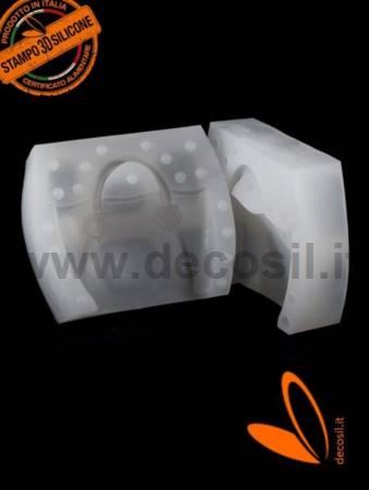Rigid Woman Handbag silicone mold