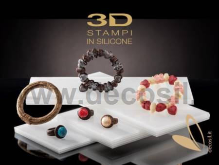Woman's Bracelet with Charms Mold