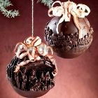 Nativity Scene Chocolate Christmas Ball LINEAGUSCIO Mold